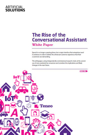 The Rise of the Conversational Assistant