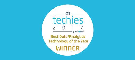 Teneo wins Best Data Analytics Technology techies award