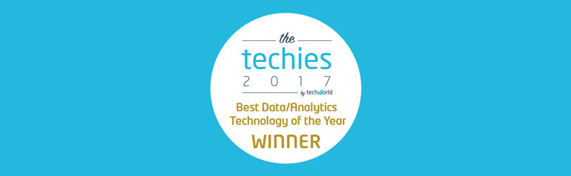 Teneo wins Best Data Analytics Technology techies award