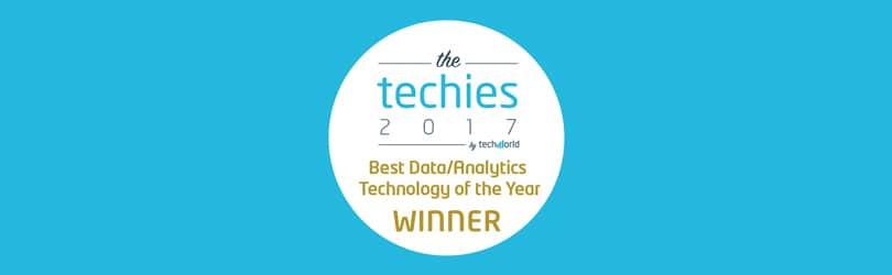 Teneo-wins-Best-Data-Analytics-Technology-techies-award