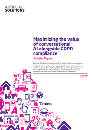 Maximizing the value of conversational AI alongside GDPR compliance