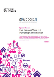 Five Reasons Voice is a Marketing Game Changer
