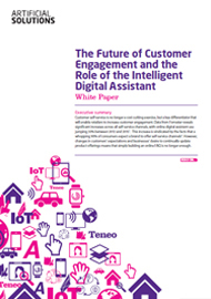 The Future of Customer Engagement and the Role of the Intelligent Virtual Agent
