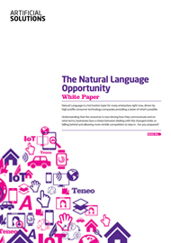 The Natural Language Opportunity