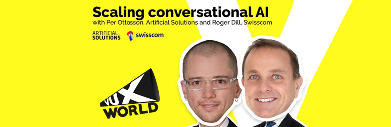 Per Ottosson and Roger Dill at Vux World Live Podcast