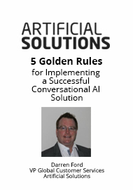 5 Golden Rules for Implementing a Successful Conversational AI Solution