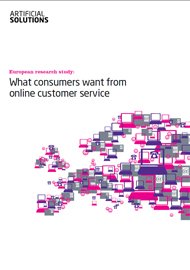 What consumers want from online customer service